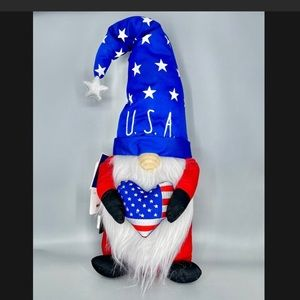 Rae Dunn Patriotic Gnome